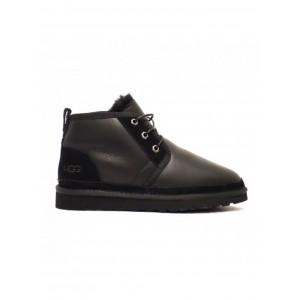 MENS Neumel Boots Metallic Black