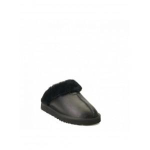 MENS Slippers Scufette Metallic Black
