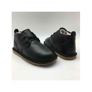 UGG Boots Man Maksim Black Leather