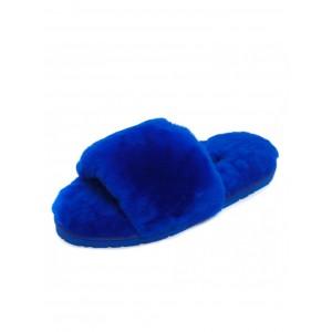 UGG Fluff Slide Slippers Electric Blue