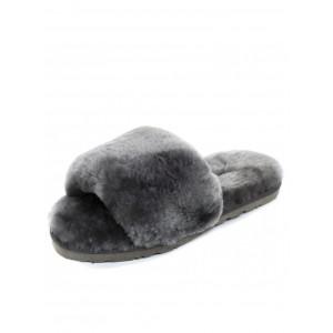 UGG Fluff Slide Slippers Grey