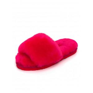 UGG Fluff Slide Slippers Rose Red