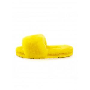 UGG Fluff Slide Slippers Yellow