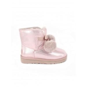 UGG Kid's Gita Metallic Pink