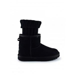 UGG Sacai Knit Classic Mini II Black