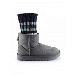 UGG Sacai Knit Classic Mini II Grey