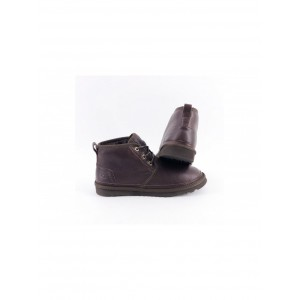 UGG WOMEN'S NEUMEL BOOT LEATHER CHOCOLATE